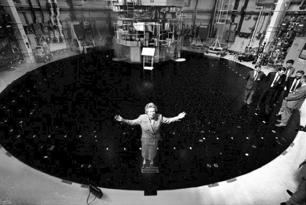 Thatcher opens Torness